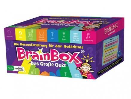 """BrainBox - Das große Quiz BrainBox """"Das Große Quiz"""" ist ein spannendes Lernquiz und dennoch ganz einfach zu spielen. Das Lernspiel ist für 1-4 Spieler oder Spielerteams konzipiert und die Spieldauer beträgt ca. 45 Minuten - ideal für eine Schulstunde, z.B. in der Freiarbeit einsetzbar."""