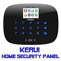 KERUI Wireless Home Security System-W193 KERUI Wireless Home Security System-3G  WIFI PSTN RFID Card GSM Touch Keypad Color Display DIY Kit Auto Dial Free APP Remote Control  Support WIFI 3G PSTN - 2.4G WIFI:the alarm system will push alarm notification via free wifi when someone breaks into your house.   #Best Home Security System #best wireless home security system #diy home security #diy wireless home security #diy wireless home security systems #home security #home