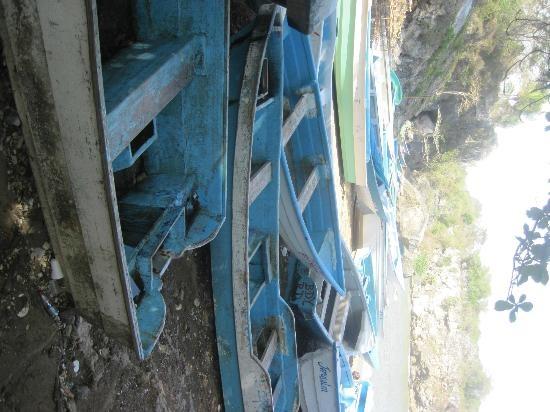 Punta Cana Mikes Dominican Adventure: fishing boats in Boca de Yuma