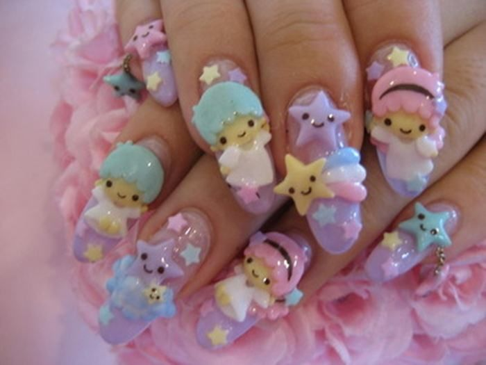 Cute 3d Nail Art Designs Hession Hairdressing