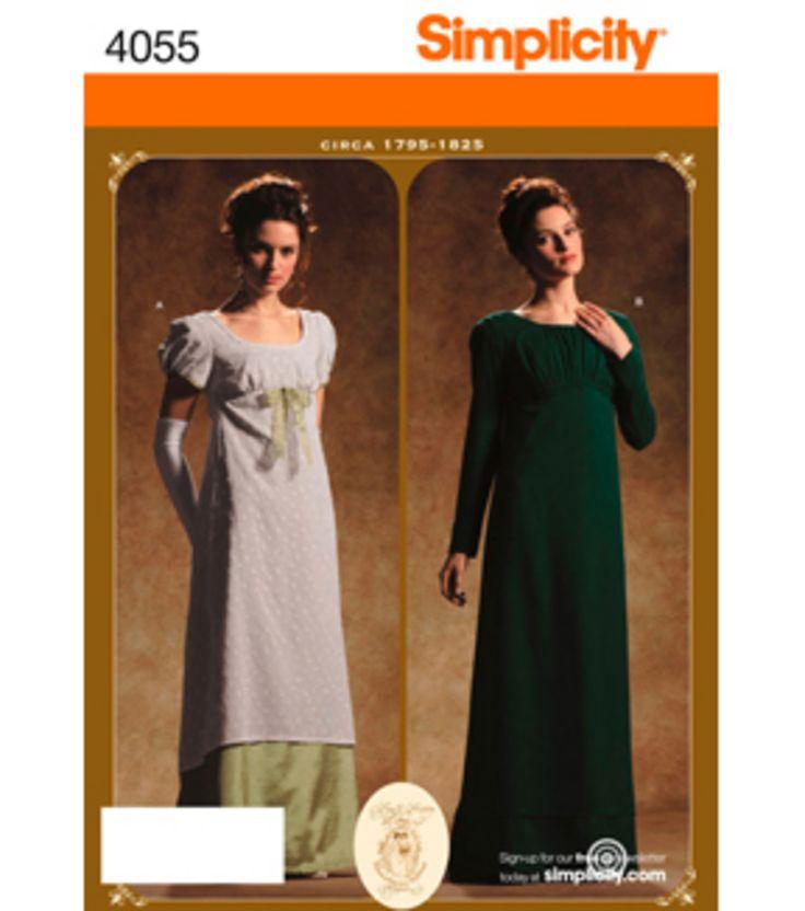 26 best Regency Patterns images on Pinterest | Sewing patterns ...