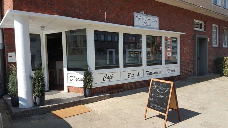 Cafe - Bar und Tattoostudio D sant, Rheinstr.49 27570 Bremerhaven