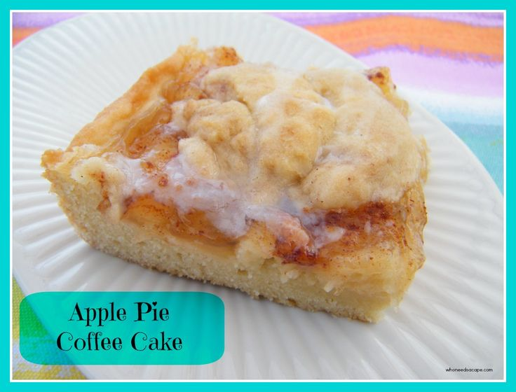 Canned Apple Pie Filling Coffee Cake Recipe