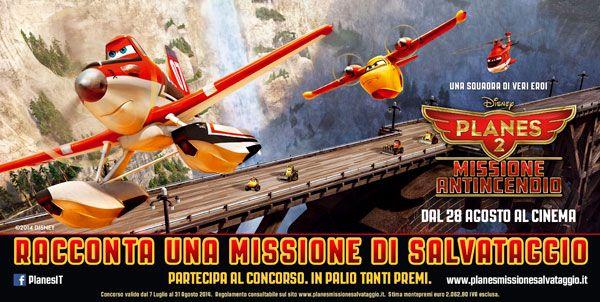 Planes 2 Missione Antincendio al cinema dal 28 agosto. Concorsi e iniziative per bambini