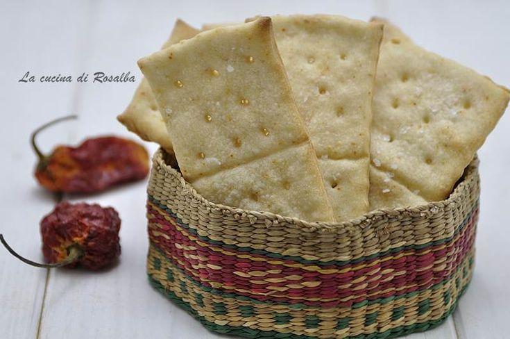 Crackers al peperoncino