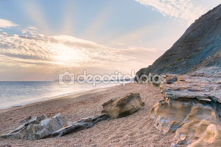 Brook Bay, Isle of Wight - England (United Kingdom) — Foto Stock © massimilianoranauro #79930620