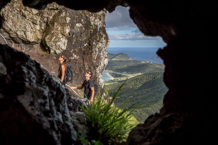 The final rope to Goat House | Lord Howe Island