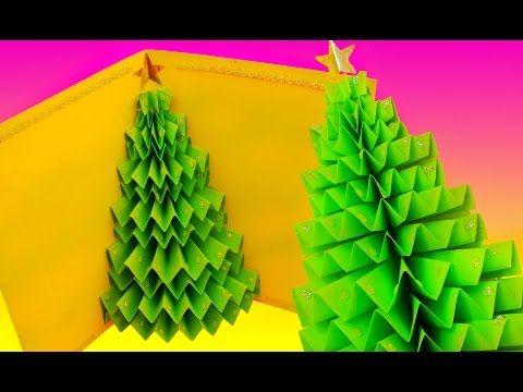 DIY Pop Up Christmas Card - How to Make Christmas Cards - YouTube
