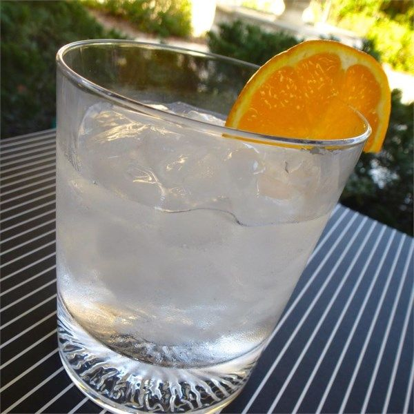 """Flying Dutchman Cocktail   """"The Dutch aren't generally associated with flying, but this combination of gin and triple sec will make you want to soar to new heights."""" #recipe #awardsshows #entertaining"""