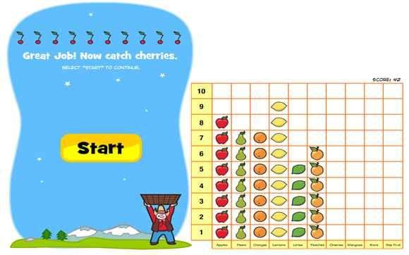 Fun data handling games for children