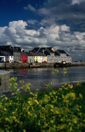 City Harbour, Galway City (Ireland). I got to know this city quite well as a study abroad student at the National University of Ireland, Galway, in spring 2008. Ireland is such a rich country - in the stories and in the soil!