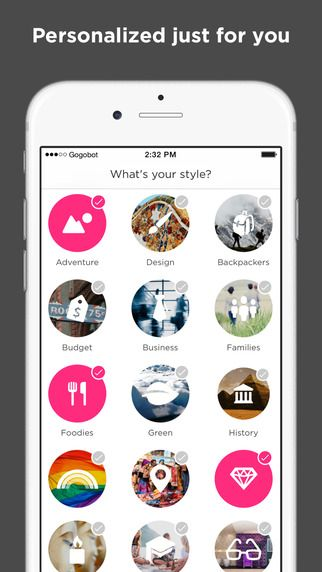 Gogobot-Personalize your travel