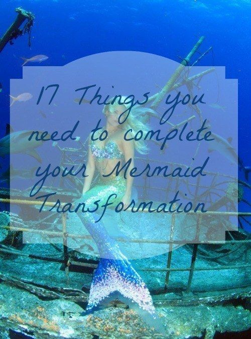 Community Post: 17 Things You Need To Complete Your Mermaid Transformation