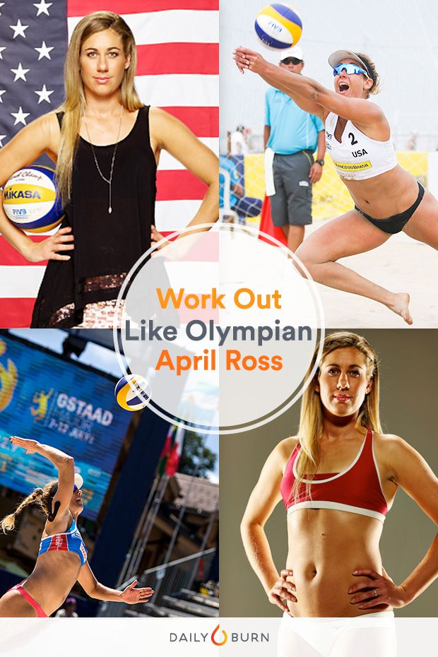 Train Like an Olympian: Beach Volleyball Player April Ross