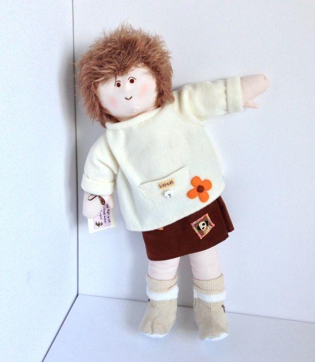 Lizzie Ann - 54cm rag doll  £29.00