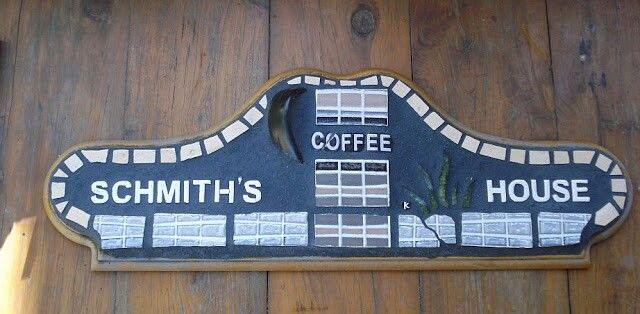 """COFFEE"" mosaic sign - 2013 by Kevin McMahon @MosaicAvatar"