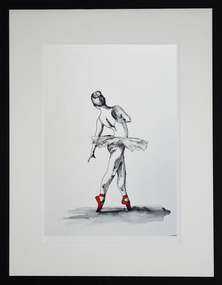 FineArtSeen - View Elegance by J P McLaughlin. An original dance ink and watercolour drawing. Browse more art for sale at great prices. New art added daily. Buy original art direct from international artists. Shop now