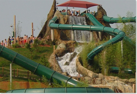 50 Places To Visit In The 50 States Of America  #24 Mississippi – Have A Splash At The Geyser Falls Water Park