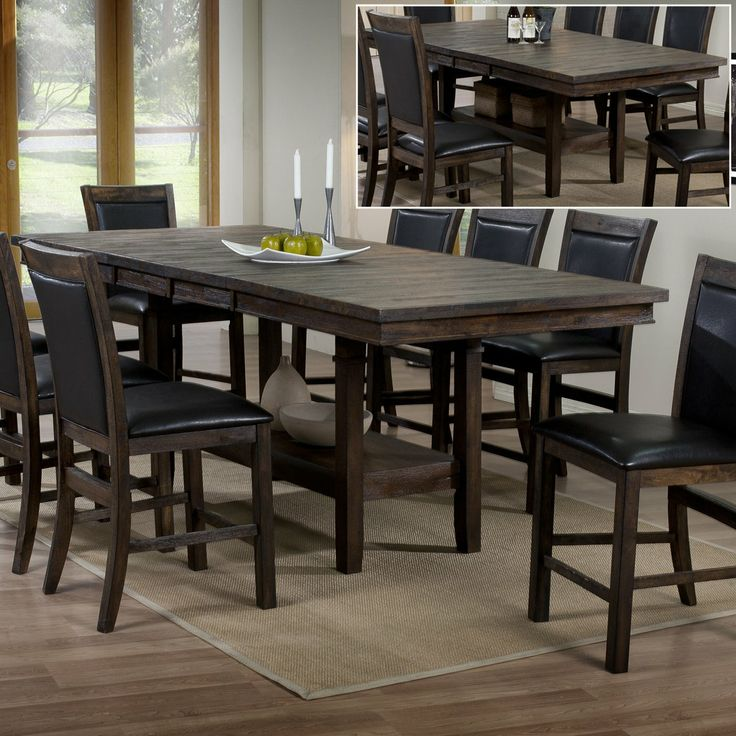 55 best tables images on pinterest dining rooms dining for Dining room tables 38 inches wide