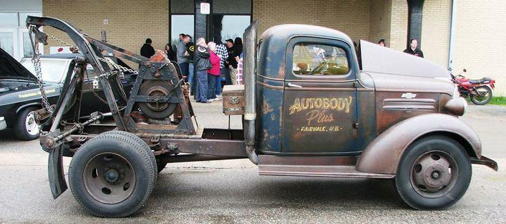 Ratty Old Hooker Quot Vintage Tow Trucks Quot Aka Quot Happy
