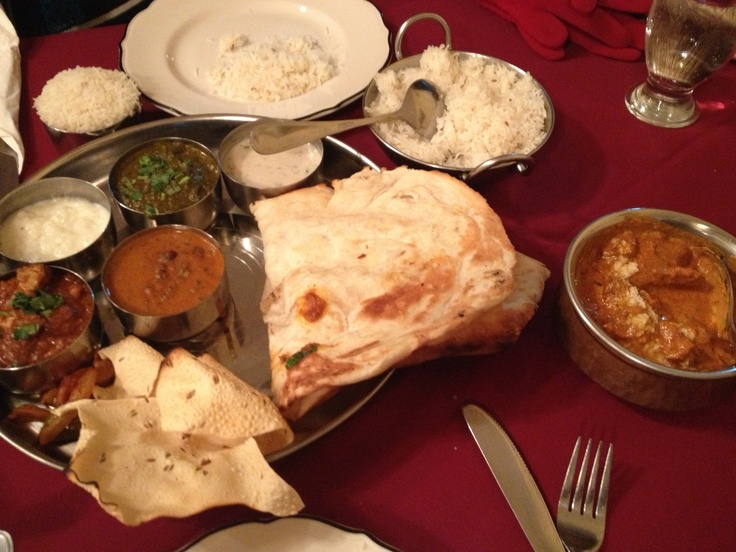 Thali at Bombay grill