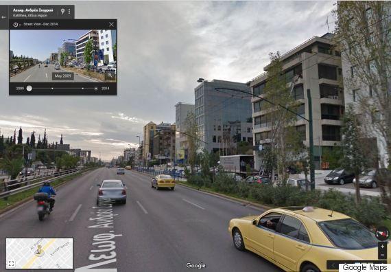 Δείτε πώς άλλαξε η γειτονιά σας τα τελευταία χρόνια με ένα κλικ. Η «κρυφή» λειτουργία του Google Maps