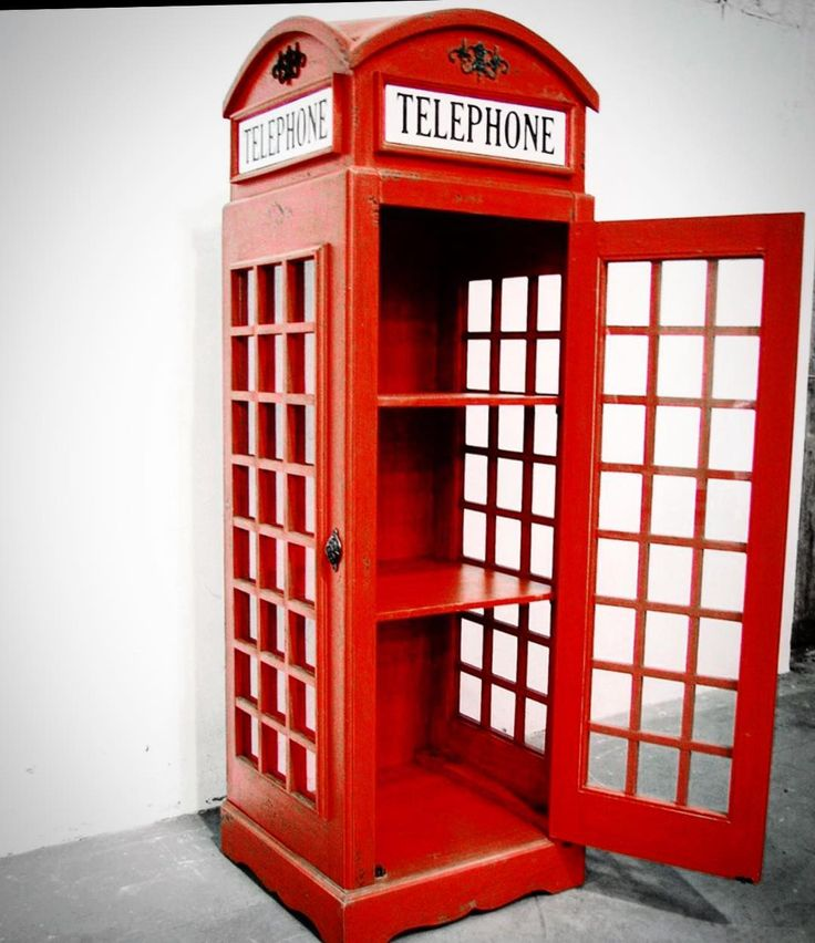 English Red Telephone Box ... Timeless piece #classic #newtiquenz #picoftheday #instagram #new #instapic #unique #uk #pom #phone #booth #rustic #red