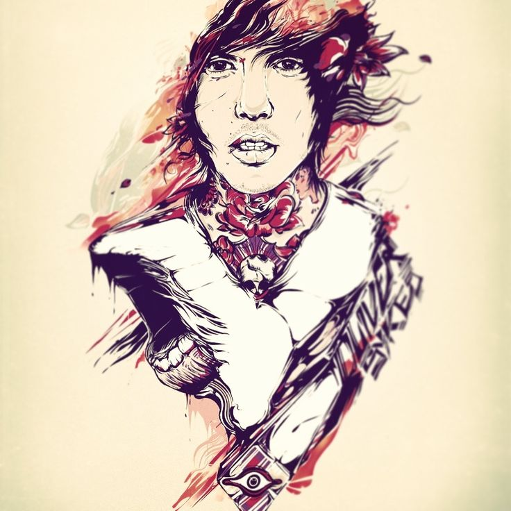 Oliver Sykes Of Bring Me The Horizon Art