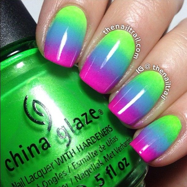Instagram photo by thenailtrail  #nail #nails #nailart