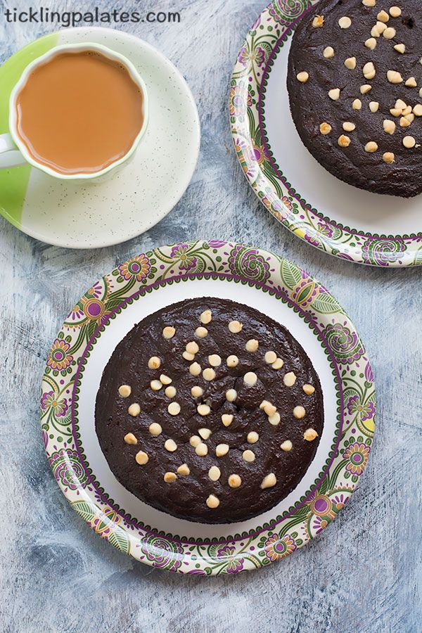 Eggless Ragi Chocolate Cake recipe with stepwise photos and Video. Gluten free, Butter free and moist cake using finger millet flour to have with tea.