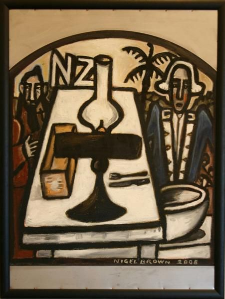 nigel_brown_s_nz_table__brown_s_works_form_the_exh_48b4f8a878.jpg (451×600) E- shape, texture,size, colour P- balance, variety, unity