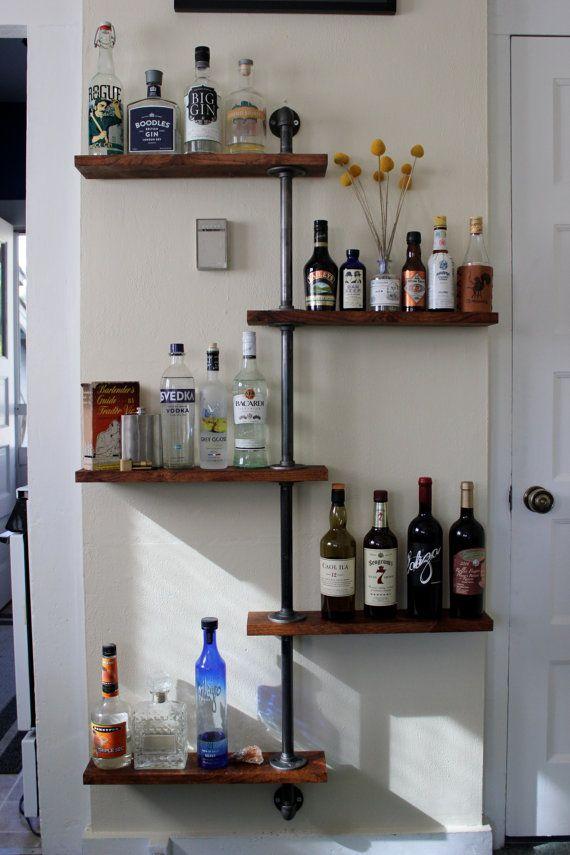 Bottle Tree  Liquor Shelf by BackyardGoods on Etsy, $349.99