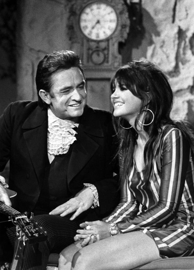 Linda & Johnny Cash from the Johnny Cash Show 1969 | Linda Ronstadt
