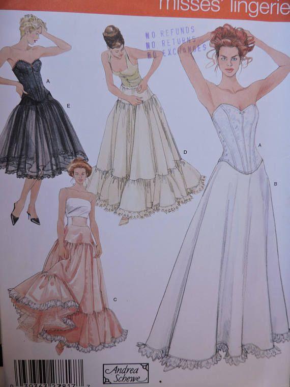 Corset Petticoat Underskirt Lingerie Designer Andrea Schewe