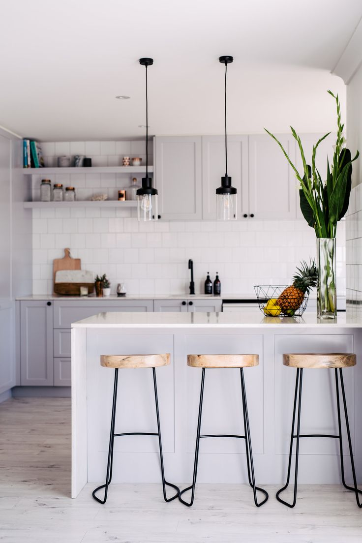 White Modern Kitchen Best 25 Modern Grey Kitchen Ideas On Pinterest  Modern Kitchen