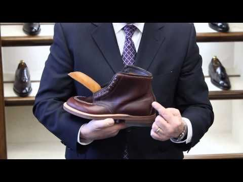 Joe Zapatka from #TheShoeMart gives us a closer look at the fitting properties and profile of the #Alden #TruBalance Last.   www.TheShoeMart.com #AldenShoes