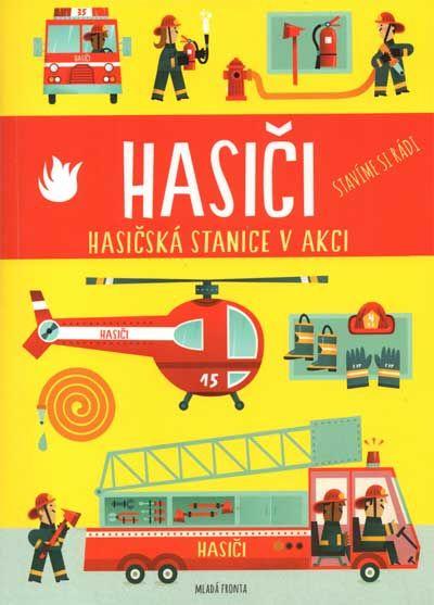 Hasiči – rozkládací 3D model hasičské stanice – Dětské stránky