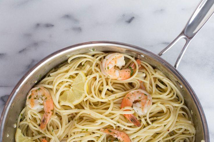 Shrimp Scampi Linguine Recipe | Damsel In Dior