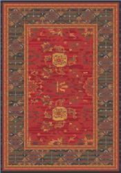 Karshi Red Cinnamon C478 - Nylon Rugs from Milliken