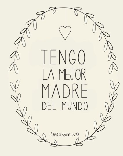 Feliz día mamá! http://elblogdelaucreativa.blogspot.com/2013/05/feliz-dia-mama.html http://ow.ly/i/22xES