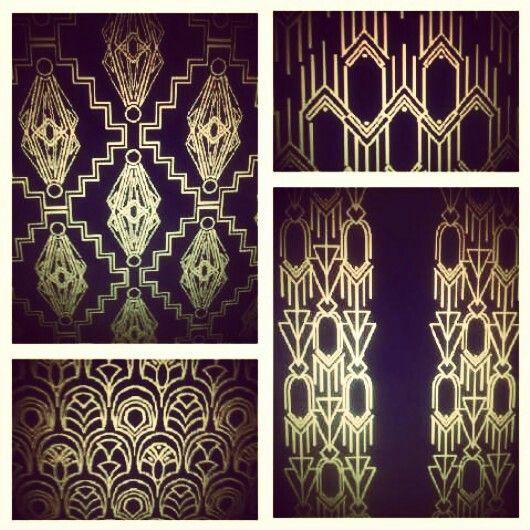 Great Gatsby Inspired Art Deco Pattern Designs Allison
