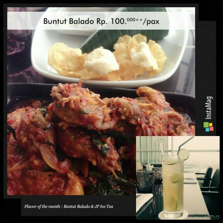 Proudly present our Flavor of the month June from HAJ: Buntut Balado