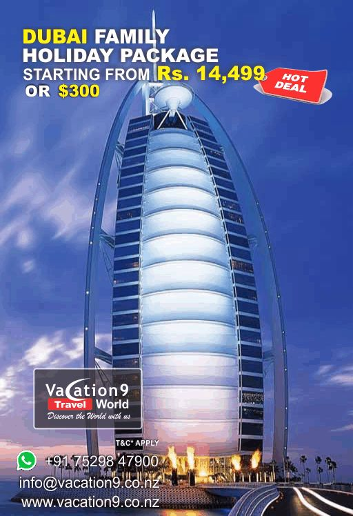 #dubai #holiday package @vacation9conz