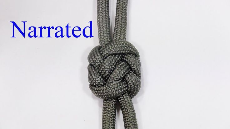 """New Knot!"" How To Tie The Pseudo Plafond Lanyard Knot"