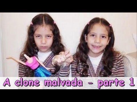 A CLONE MALVADA - NOVELINHA PARTE 1 - YouTube