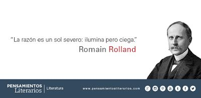 Romain Rolland. Sobre la razón.