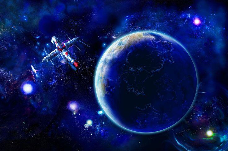 Images for Desktop: spaceship image, 862 kB - Kingsley Bush