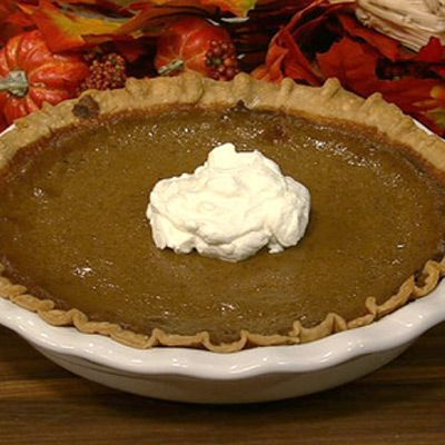 Chef Michael Symon's Chocolate Pumpkin Pie Recipe