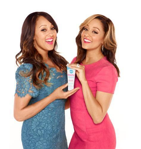 Our new product Stretchy! (Tia Mowry-Housley and Tamera Mowry-Hardrict) This product is for stretch marks. You can go on our Need Brands website:www.needbrands.com to watch us talk about Stretchy! And finally,one of the best parts about Stretchy! is that it's actually affordable-unlike other stretch mark creams that can cost $50 or more. Stretchy is only $17.99 for a tube.