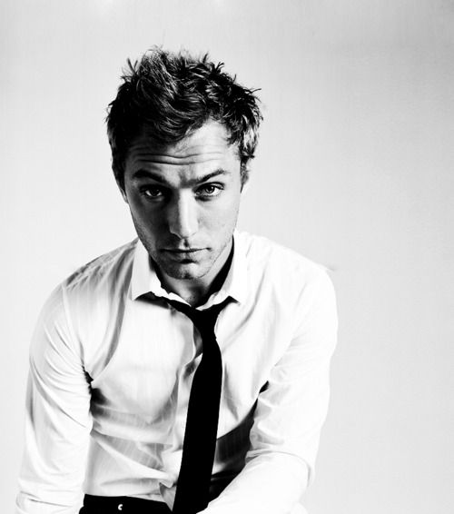 I don't mind looking at Jude Law, and I definitely don't mind listening to Jude Law. No, I don't.